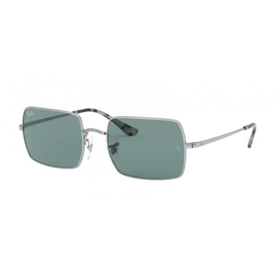 Ray-Ban RB 1969 Rectangle 919756 Argento | Occhiale Da Sole Unisex