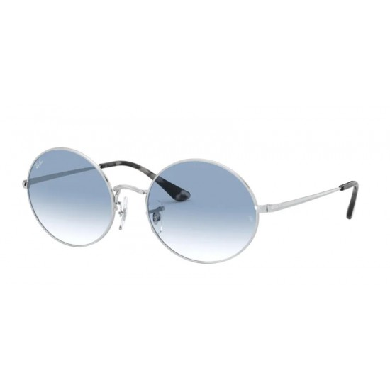 Ray-Ban RB 1970 Oval 91493F Argento