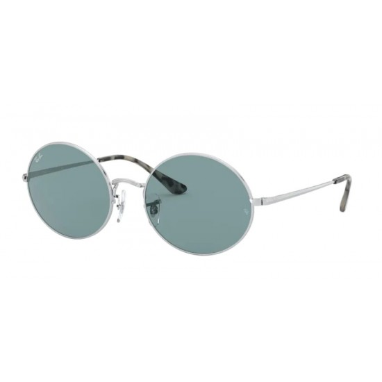 Ray-Ban RB 1970 Oval 919756 Argento | Occhiale Da Sole Unisex