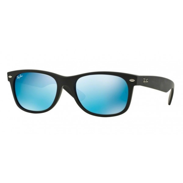 Ray-Ban RB 2132 New Wayfarer 622/17 Gomma Nera