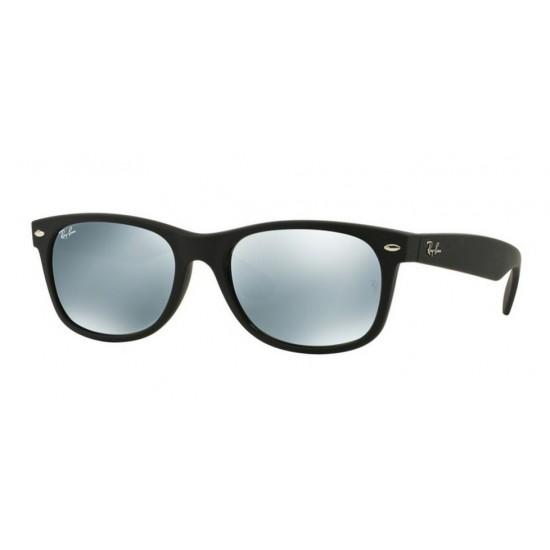 Ray-Ban RB 2132 New Wayfarer 622/30 Gomma Nera | Occhiale Da Sole Uomo
