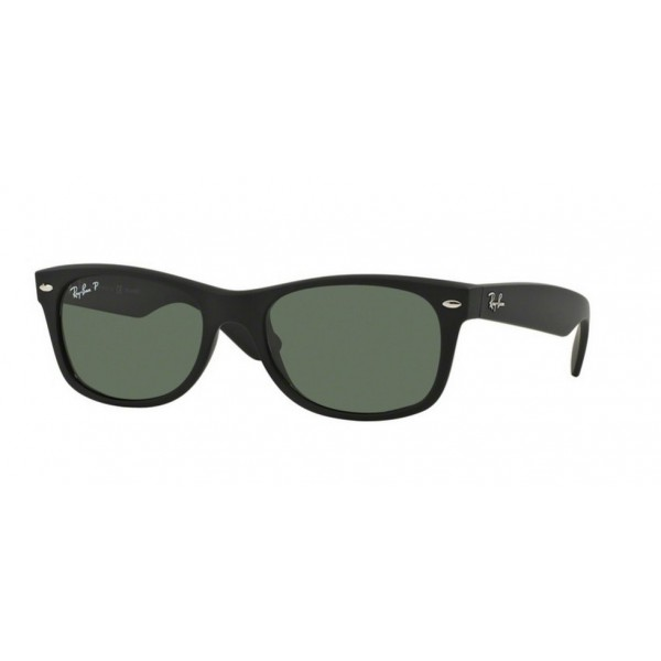 Ray-Ban RB 2132 New Wayfarer 622/58 Gomma Nera