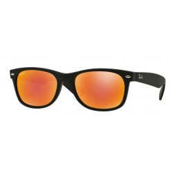 Ray-Ban RB 2132 New Wayfarer 622/69 Gomma Nera