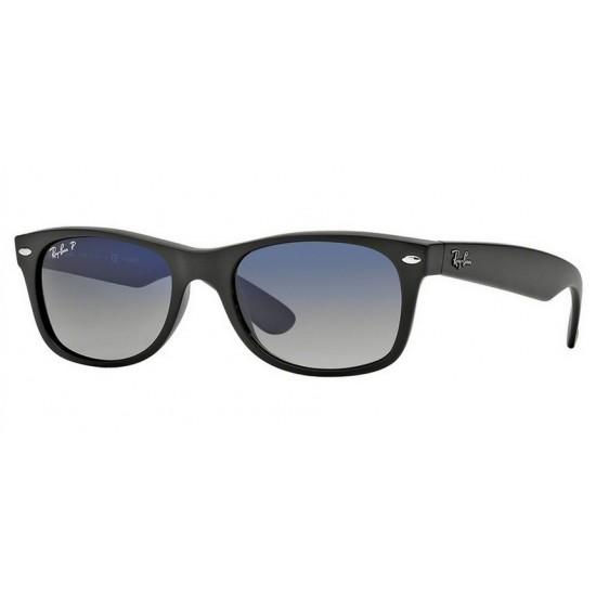 Ray-Ban RB 2132 New Wayfarer 601S78 Nero Opaco | Occhiale Da Sole Uomo