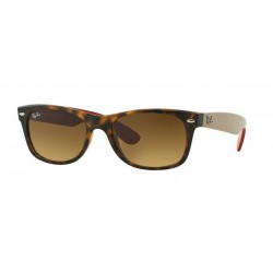 Ray-Ban RB 2132 New Wayfarer 618185 Opaca Avana