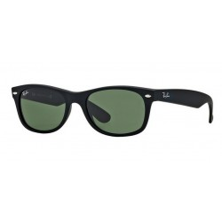 Ray-Ban RB 2132 New Wayfarer 622 Gomma Nera