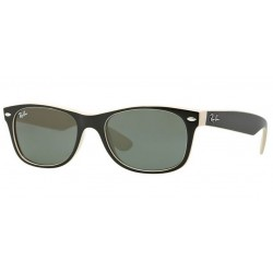 Ray-Ban RB 2132 New Wayfarer 875 Top Nero Su Beige