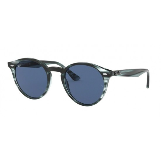 Ray-Ban RB 2180 - 643280 Spogliato Avana Blu
