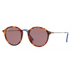 Ray-Ban RB 2447 Round/classic 1245W0 Avana Rossa