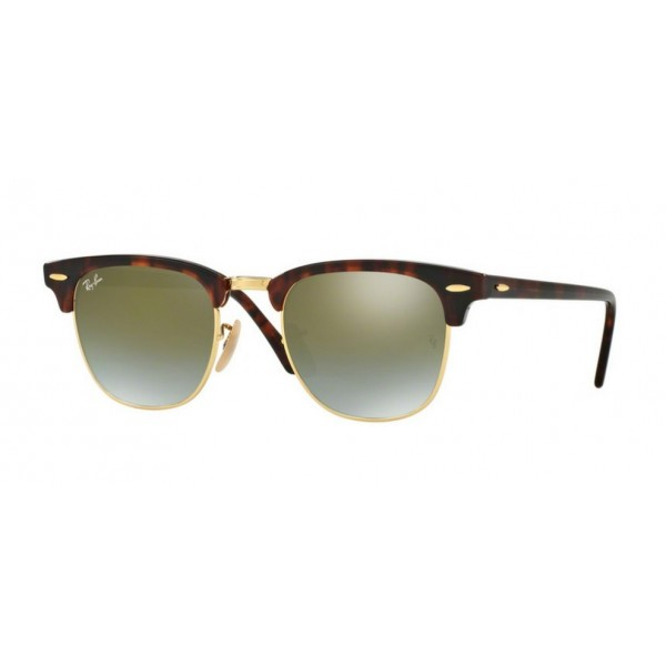 Ray-Ban RB 3016 Clubmaster 990/9J Rosso Lucido / Avana
