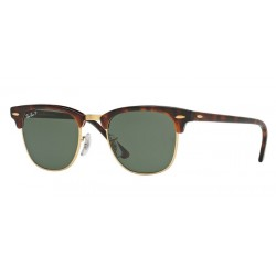 Ray-Ban RB 3016 Clubmaster 990/58 Avana Rossa