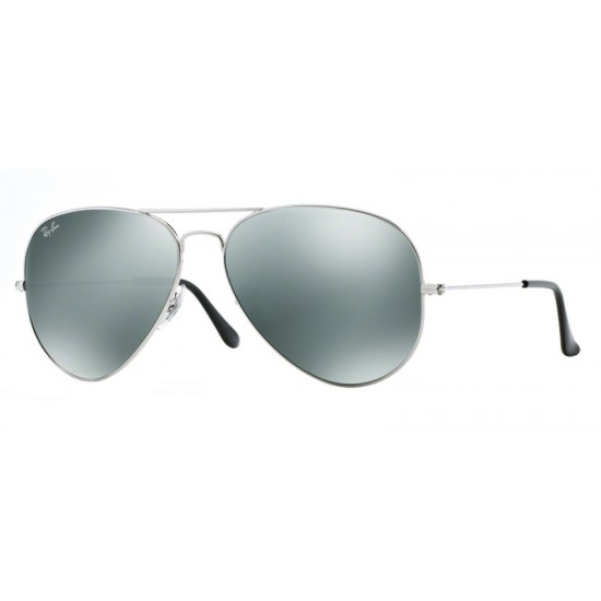 Ray-Ban RB 3025 Aviator Large Metal 003/40 Argento
