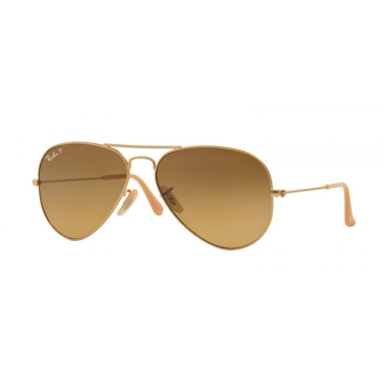Ray-Ban RB 3025 Aviator Large Metal 112/M2 Oro Opaco