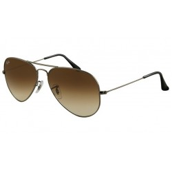 Ray-Ban RB 3025 Aviator Large Metal 004/51 Canna Di Fucile
