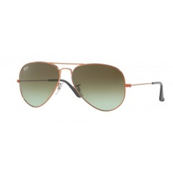 Ray-Ban RB 3025 Aviator Large Metal 9002A6 Bronzo Medio Lucido