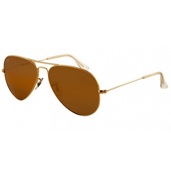 Ray-Ban RB 3025 Aviator Large Metal 001/33 Oro | Occhiale Da Sole Uomo