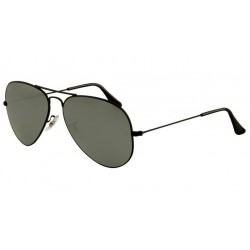 Ray-Ban RB 3025 002-40 Aviator Large Metal Nero