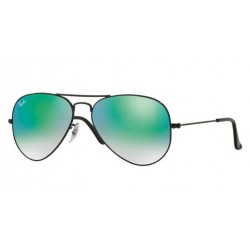 Ray-Ban RB 3025 Aviator Large Metal 002/4J Nero Lucido
