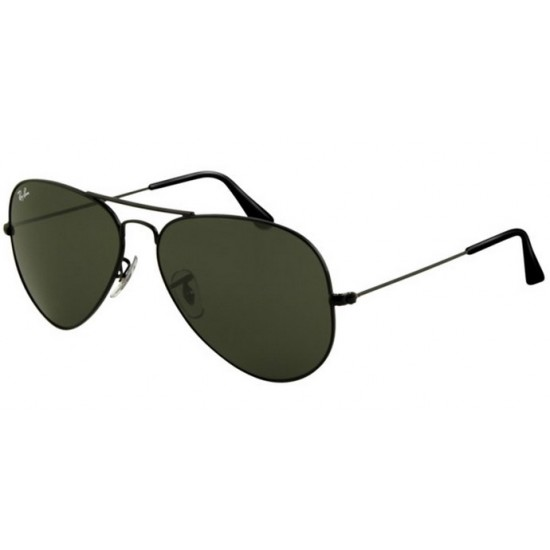 Ray-Ban RB 3025 002 Aviator Large Metal Nero