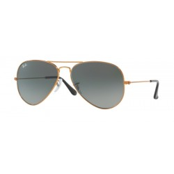 Ray-Ban RB 3025 Aviator Large Metal 197/71 Bronzo Lucido