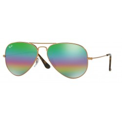 Ray-Ban RB 3025 Aviator Large Metal 9018C3 Bronzo Medio Metallico