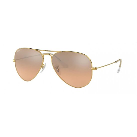 Ray-Ban RB 3025 Aviator Large Metal 001/3E Oro | Occhiale Da Sole Uomo