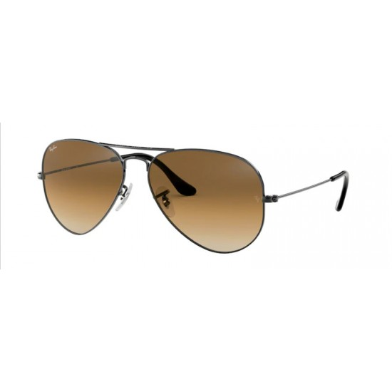 Ray-Ban RB 3025 Aviator Large Metal 004/51 Canna Di Fucile | Occhiale Da Sole Uomo