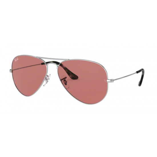 Ray-Ban RB 3025 Aviator Large Metal 003/4R Argento