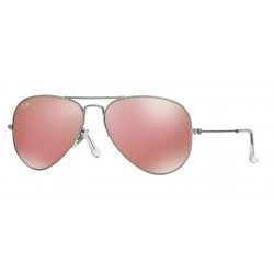 Ray-Ban RB 3025 Aviator Large Metal 019/Z2 Argento Opaco