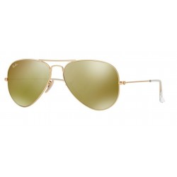 Ray-Ban RB 3025 112-93 Aviator Large Metal Oro Opaco