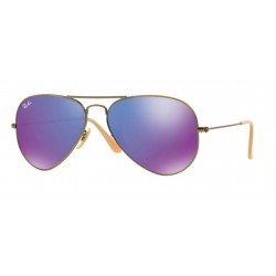 Ray-Ban RB 3025 167 1M Aviator Large Metal Bronzo