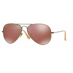 Ray-Ban RB 3025 167 2K Aviator Large Metal Bronzo