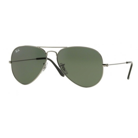 Ray-Ban RB 3025 Aviator Large Metal W0879 Canna Di Fucile | Occhiale Da Sole Uomo