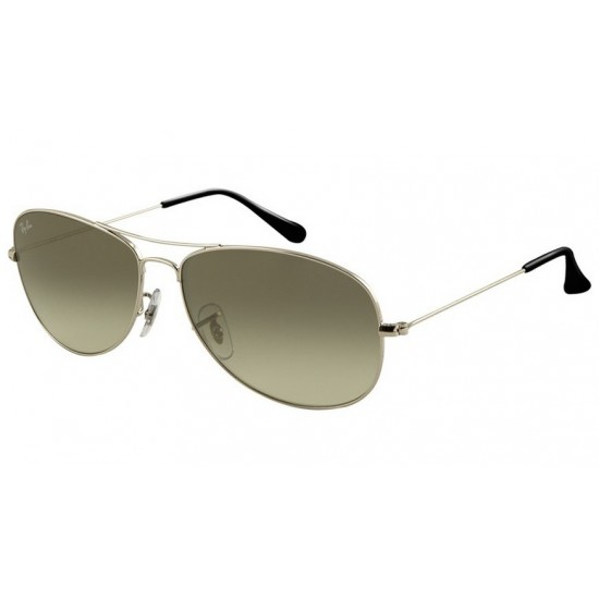 Ray-Ban RB 3362 003-32 Cockpit Argento