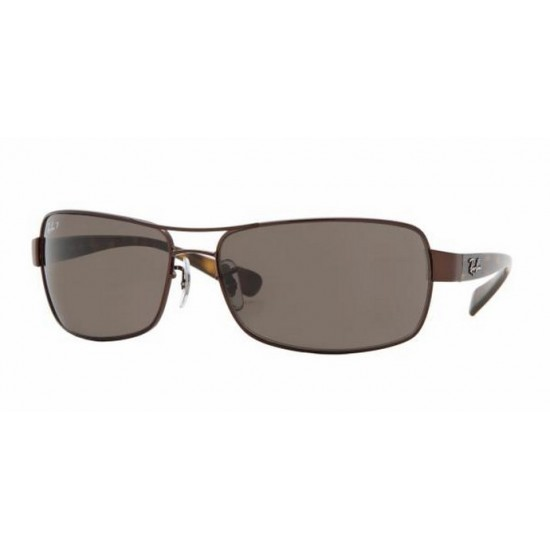 Ray-Ban RB 3379 014-57 Polarizzato Marrone
