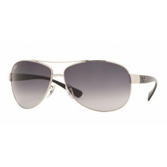 Ray-Ban RB 3386 Rb3386 003/8G Argento | Occhiale Da Sole Uomo