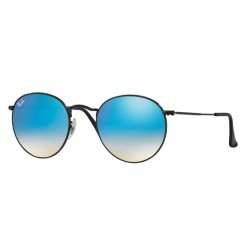 Ray-Ban RB 3447 Round Metal 002/4O Nero Lucido