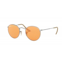 Ray-Ban RB 3447 Round Metal 9065V9 Argento