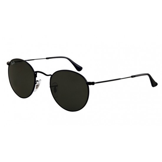Ray-Ban RB 3447 002 Round Metal Nero