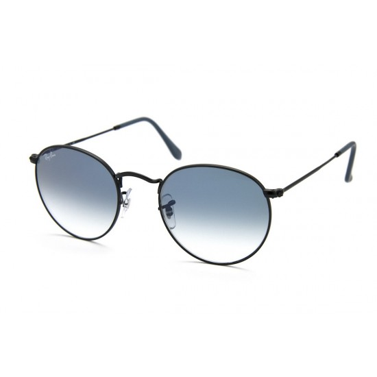 Ray-Ban RB 3447 Round Metal 006/3F Nero Opaco
