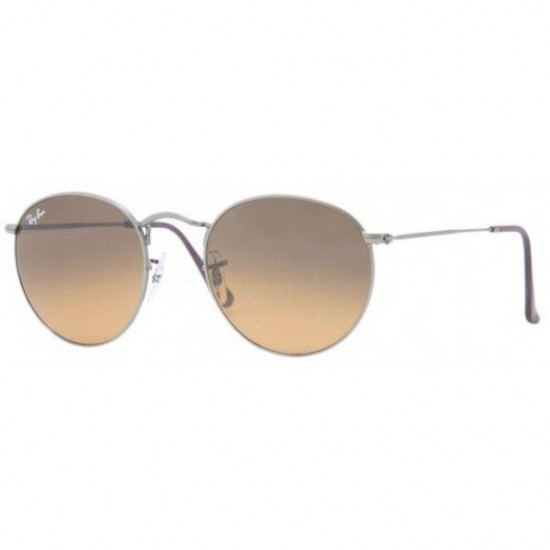 Ray-Ban RB 3447 029-74 Round Metal Canna Di Fucile