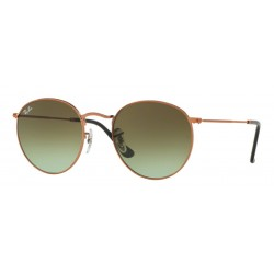 Ray-Ban RB 3447 Round Metal 9002A6 Bronzo Medio Lucido