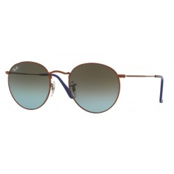 Ray-Ban RB 3447 Round Metal 900396 Bronzo Scuro Lucido