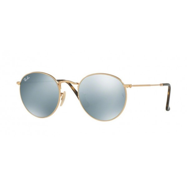 Ray-Ban RB 3447N Round Metal 001/30 Oro Lucido