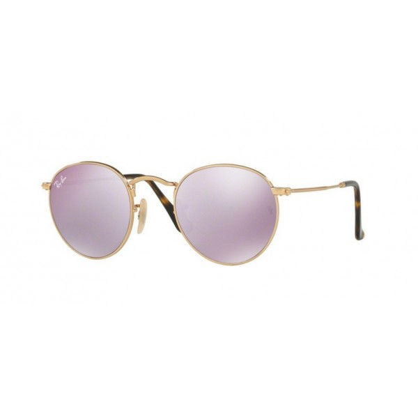Ray-Ban RB 3447N Round Metal 001/8O Oro Lucido