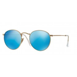 Ray-Ban RB 3447 Round Metal 112/4L Oro Opaco