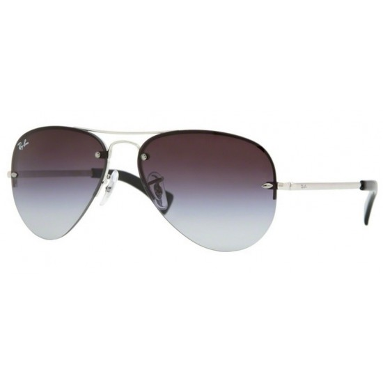 Ray-Ban RB 3449 Rb3449 003/8G Argento | Occhiale Da Sole Uomo