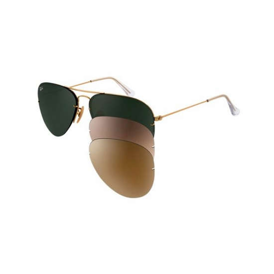 Ray-Ban RB 3460 001-71 Flip Out Oro