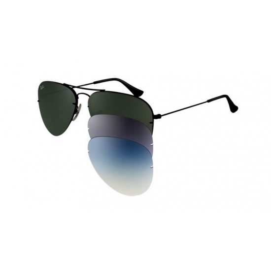 Ray-Ban RB 3460 002-71 Flip Out Nero