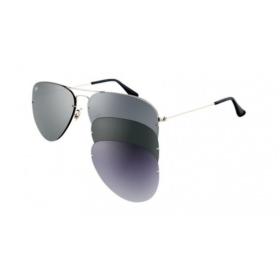 Ray-Ban RB 3460 004-6G Flip Out Canna Di Fucile